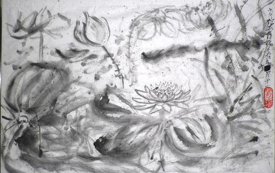 木刻版画与水墨国