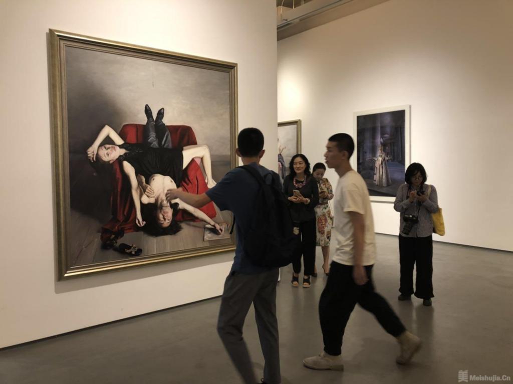 马特奥·巴西雷、石良双人展在鸿坤美术馆开幕