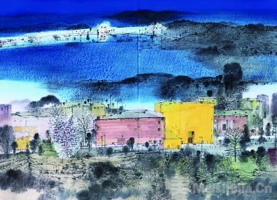 庆祝澳门回归祖国20周年作品展在京开幕